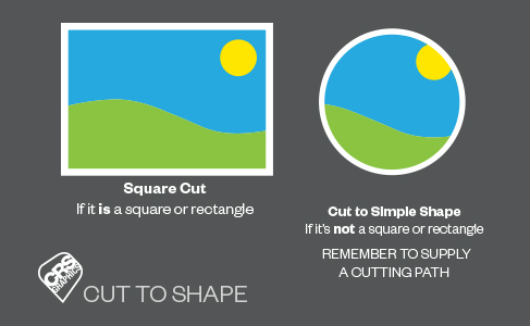 Cut to Shape Hint